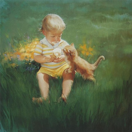 Очарование детства в творчестве Дональда Золана — фото 6