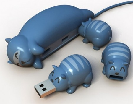 Забавные USB-девайсы от Samuel Wilson — фото 4