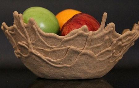 Вспоминая берег моря... Песчаная чаша Sand Bowl от Leetal Rivlin. — фото 2