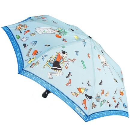 Нескучные зонты от  Moschino Cheap & Chic — фото 15