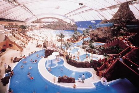Ocean Dome изнутри