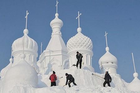 Российские скульпторы за работой
