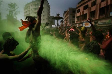 Фестиваль Красок Холи в Индии — фото 7