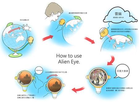Интерактивный обучающий глобус Alien Eye — фото 3