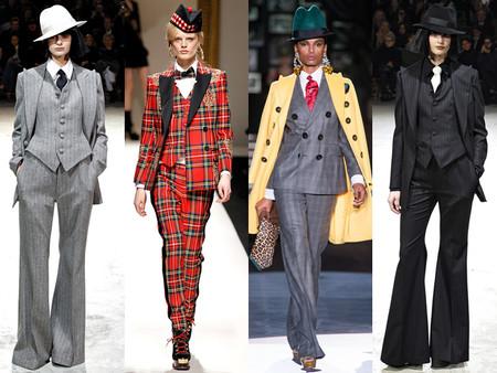 Модные костюмы в стиле ретро