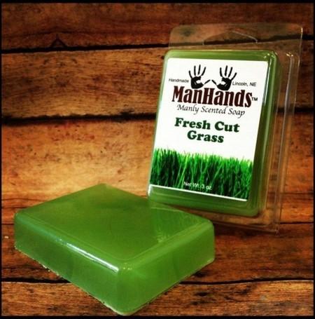 мыло с запахом свежескошенной травы