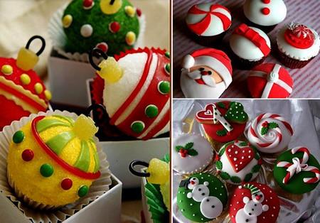 Новогодний декор для праздничных угощений — фото 13