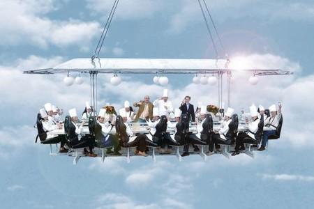 """Обед на высоте 50 метров от проекта """"Dinner in the Sky"""" — фото 1"""