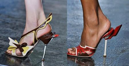 Смелая и яркая весенняя коллекция обуви от Prada — фото 1