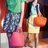 Яркие сумки-плетенки для лета 2013