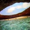 Необычный скрытый пляж острова Playa de Amor