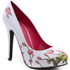 «Цветущие» туфельки от Ed Hardy