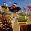 Картины Триш Биддл – изящные образы и ни одного лица.