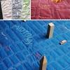 В незнакомом городе поможет одеяло? Проект Soft Maps – текстильные карты.