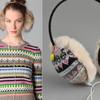 В тепле и с музыкой – симпатичные наушники от Juicy Couture.