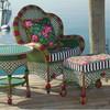 Садовая мебель от MacKenzie-Childs: яркая индивидуальность на приусадебном участке