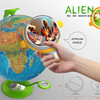 Интерактивный обучающий глобус Alien Eye
