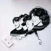 Портреты знаменитостей из старых магнитофонных кассет