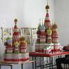 Бумажный Собор Василия Блаженного от Сергея Тарасова