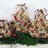 Ее я смастерила из того, что было: новогодние елки из подручных материалов