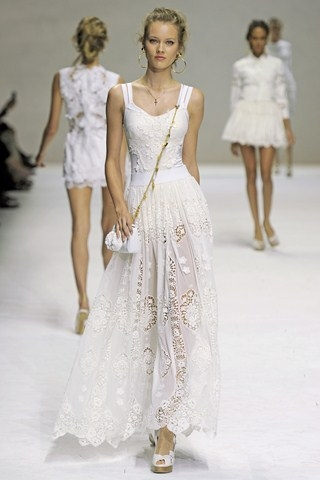 Кружево. Dolce & Gabbana.