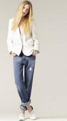 Джинсы-клеш - новое веяние западной моды — фото 9