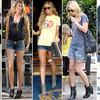 Джинсовые шорты  снова  модный тренд !