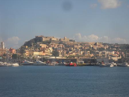 Вид на Милаццо с моря