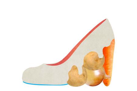 Оригинальные фантазийные туфельки от Йорико Юды — фото 15
