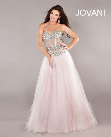 Коллекция платьев Jovani 2013 для самых торжественных событий — фото 38