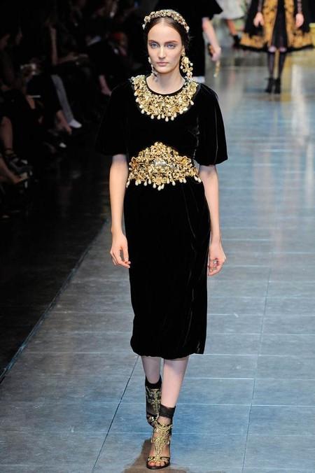 Мода на роскошь: стиль барокко в коллекциях осень-зима 2012-2013 — фото 5