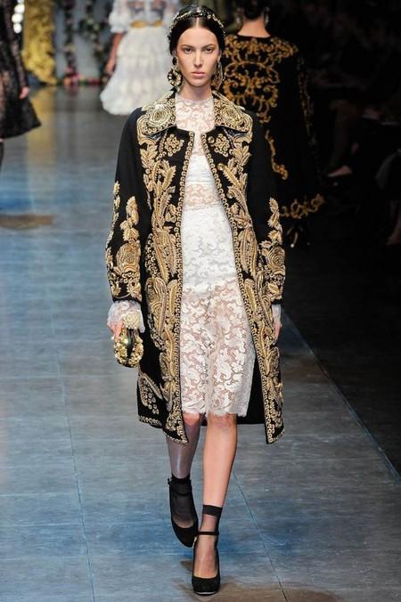 Мода на роскошь: стиль барокко в коллекциях осень-зима 2012-2013 — фото 10