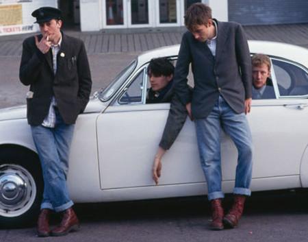 Мода на брутальность: тимберленды и мотоциклетные ботинки — фото 22