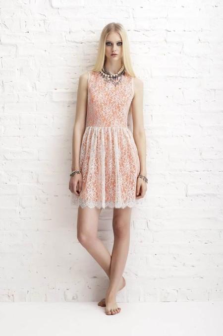 Кружевные коктейльные платья Erin Fetherston