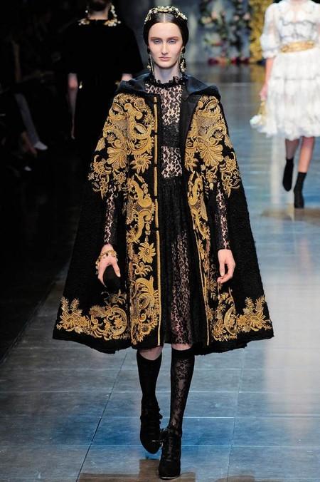 Мода на роскошь: стиль барокко в коллекциях осень-зима 2012-2013 — фото 8