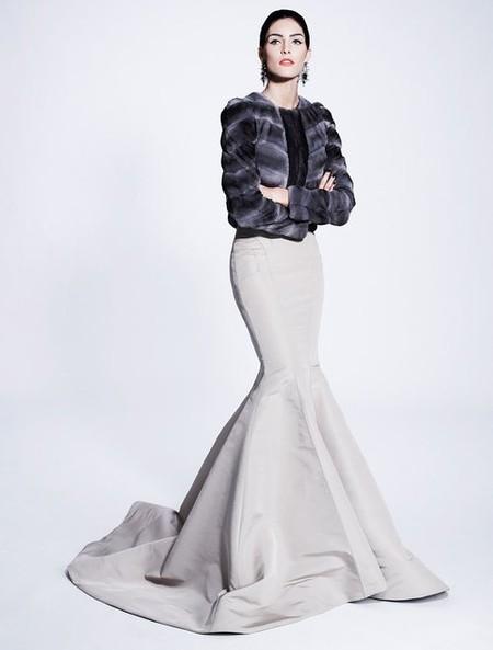 Королевская роскошь и женственность в коллекции Zac Posen pre-fall 2012 — фото 21