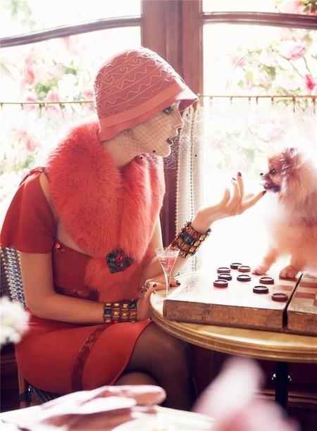 Из фотосессии Vogue