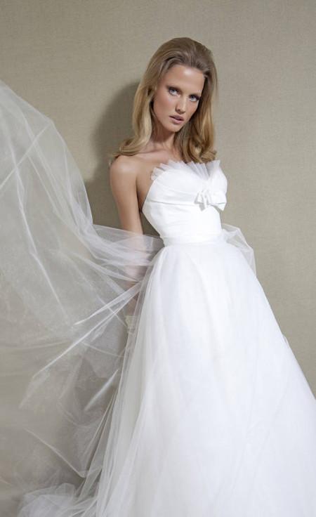 Свадебный сезон 2012: свежая кутюрная коллекция Дани Мизрахи — фото 17