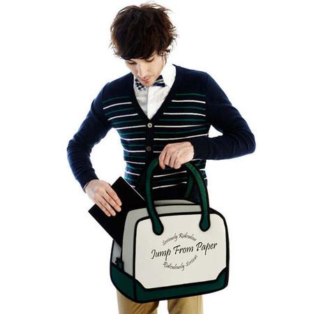 JumpFromPaper выпускает сумки и для мужчин