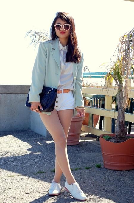 Шорты весна-лето 2013: какие выбрать и с чем носить — фото 32