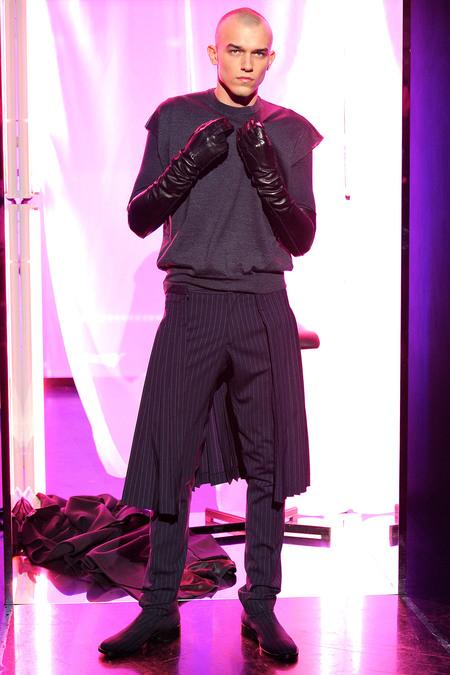 Что носить мужчинам осенью и зимой 2013-2014: косухи, камуфляж, пэчворк и... юбки — фото 19