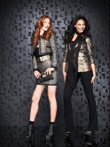 Праздничная коллекция женской одежды Bebe Holiday 2011 2012   Модные ... 1c9576b62f8