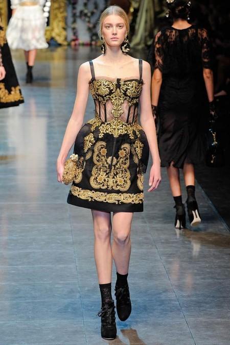 Мода на роскошь: стиль барокко в коллекциях осень-зима 2012-2013 — фото 7