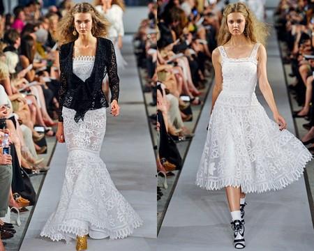 Белое платье – один из трендов, представленных на неделях высокой моды — фото 20