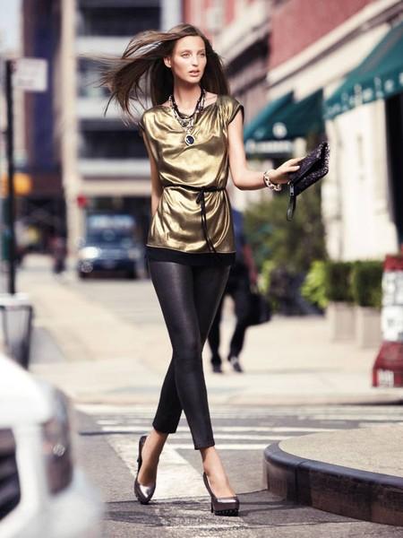 С чем носить леггинсы? Составляем модный look. — фото 16