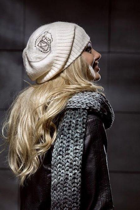Стильные вязаные шапочки от Éffré: коллекция осень-зима 2012-2013 — фото 8