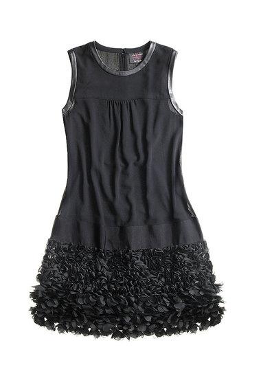 Платье с декорированной нижней частью