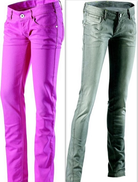 Денимовые брюки adidas NEO