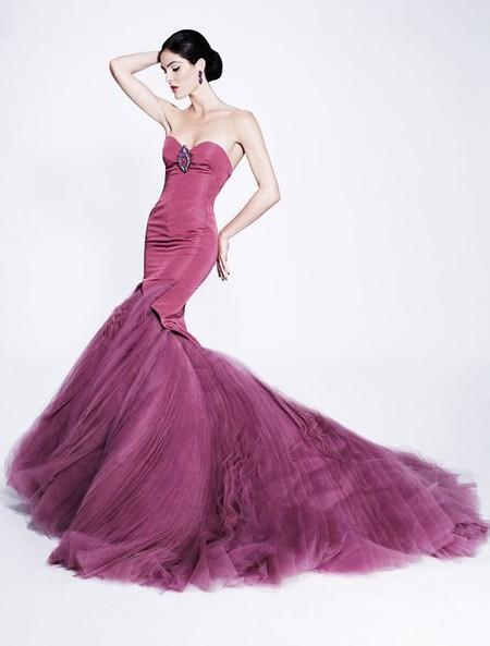 Королевская роскошь и женственность в коллекции Zac Posen pre-fall 2012 — фото 29