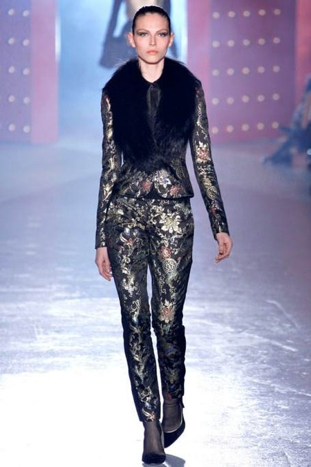 Мода на роскошь: стиль барокко в коллекциях осень-зима 2012-2013 — фото 32